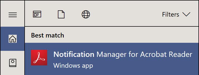 Beware: Adobe Reader sideloads an app to Windows