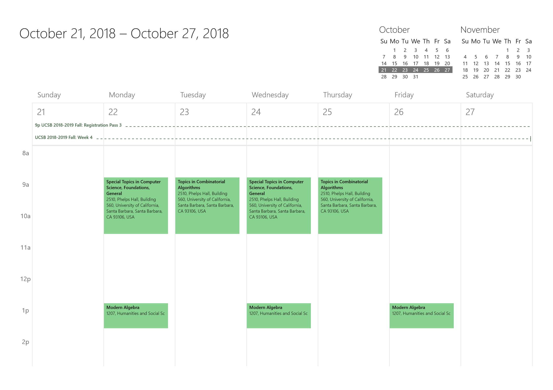 用 Outlook 对象模型辅助学术日历管理