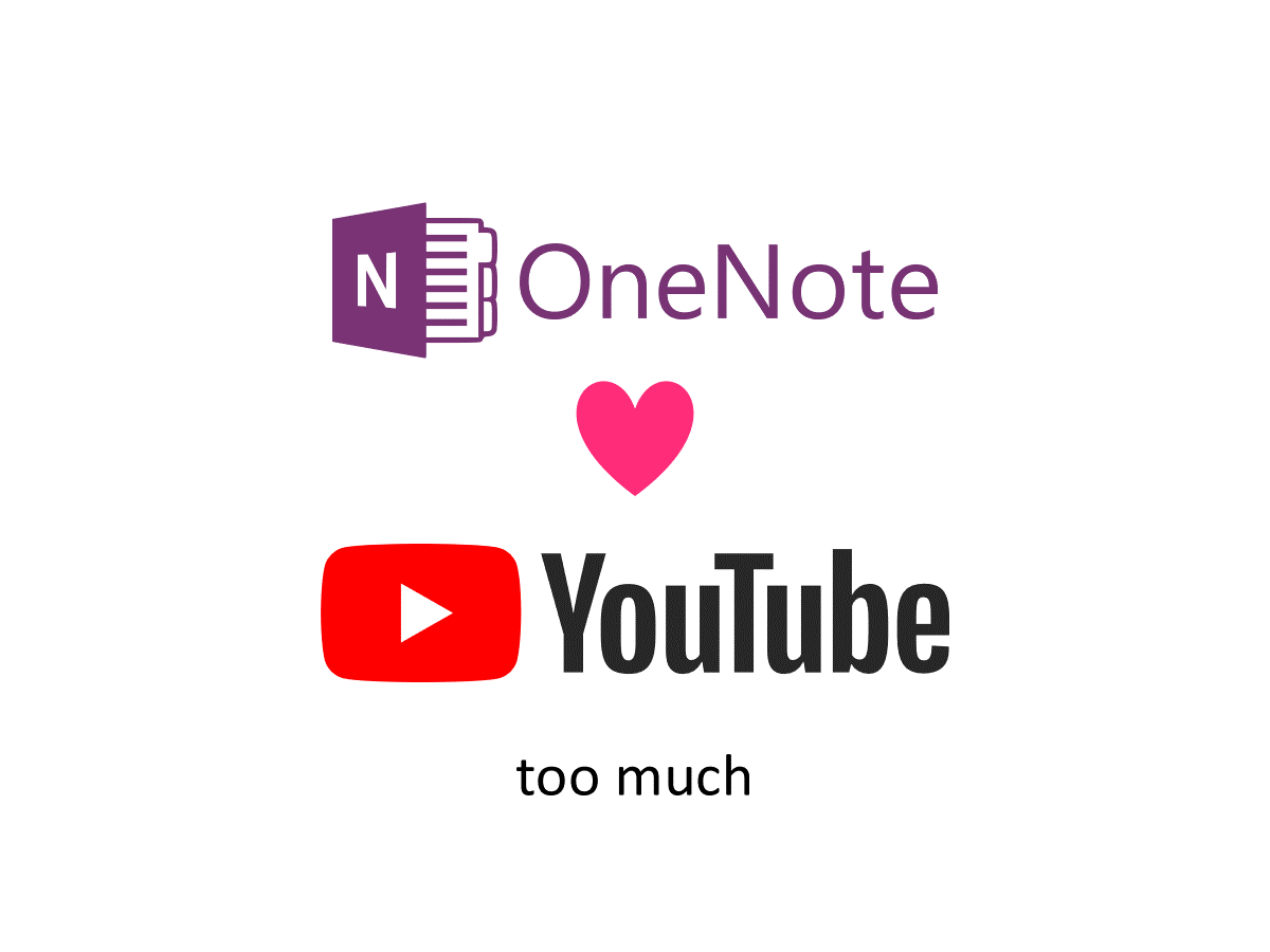 How to disable insertion of cover image and title when pasting YouTube video URL in OneNote