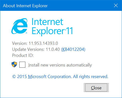Towards Internet Explorer 11 Compatibility